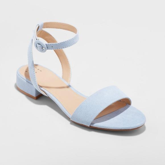 63b29228bf6 Light Blue Women's Winona Ankle Strap Heel Sandal